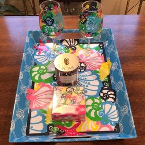 Lilly Pulitzer Chiquita Bonita Serving Set